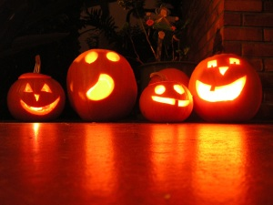 halloweeen pumpkins decorations