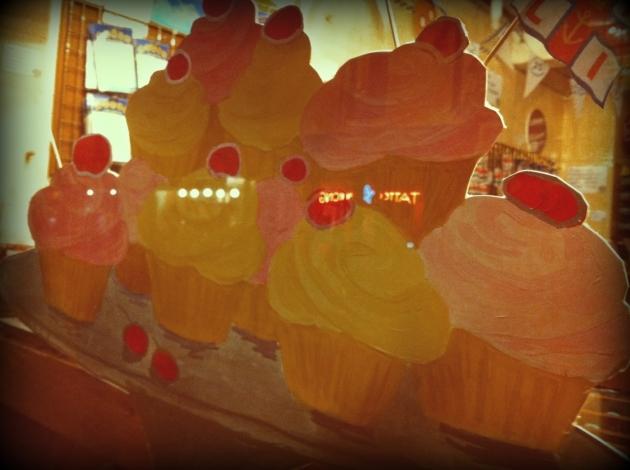 cupcake pinting